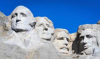 Mount rushmore nationella minnesmärke foto