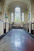 christ kyrka (Philadelphia) interiör med klart glas palladian fönster foto