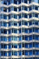upprepande mönster kontorsbyggnad foto