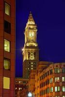 boston klocktorn anpassat hus masschester foto