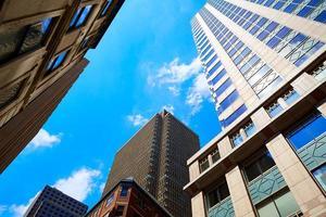boston i downtown builder i Massachusetts foto