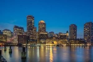 bostons waterfront foto