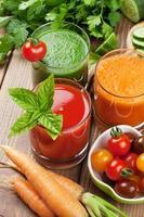 färsk grönsakssmoothie