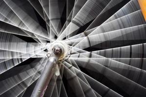 roterande hjul foto