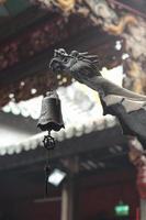kinesisk gragon i a-ma-templet foto