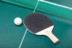 racket och boll foto