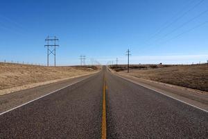 panhandle landsväg foto