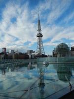 nagoya tv-torn och oas 21 foto