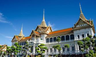 grand palace i bangkok, thailand foto