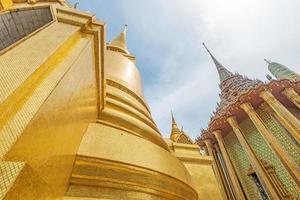 gyllene pagod, grand palace, bangkok, thailand foto