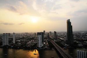 bangkok view night foto