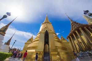 smaragd buddha tempel (wat phra kaeo) foto