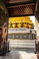 templet för smaragd buddha foto