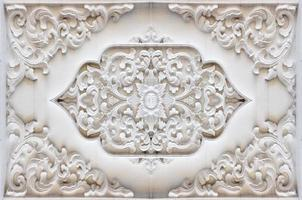 bakgrund textur stuckatur vägg Thailand religion. foto