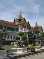 grand palace i bangkok foto