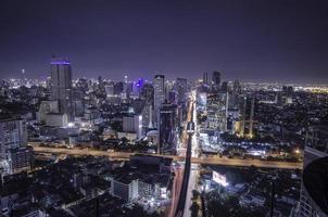 bangkok city på natten