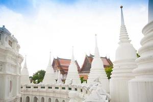 tempel i bangkok, thailand foto