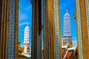 smaragd buddha templet foto