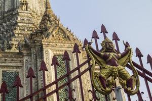 wat arun tempel i bangkok foto