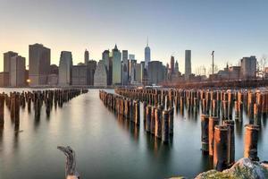 new york skyline foto