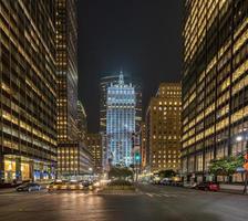 parkera avenyn i New York City foto