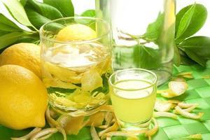 citronlikör foto