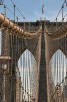 brooklyn bridge i nyc foto