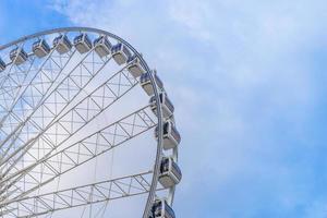 gigantisk pariserhjul himmel foto