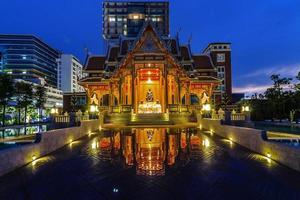 thai stil paviljong foto