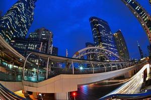 skytrain-stationen Chong Nonsi, Bangkok, Thailand foto