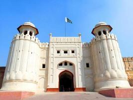 lahore fortet, lahore pakistan foto