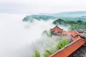 byggnad i kinesisk stil foto