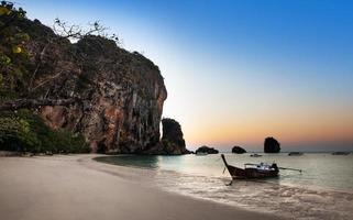 ao nang strand, Railay, Krabi-provinsen, bästa stranden i Thailand