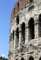 colosseum, flavian amfiteater, roma, italien foto