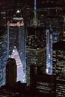 new york manhattan skyskrapor foto