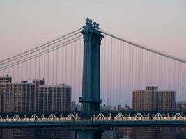 manhattan bridge foto