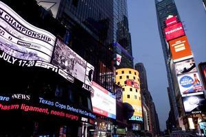 gånger kvadratisk, New York City foto