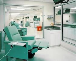 klinik för dialysbehandling foto