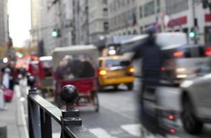nyc pedicabs foto