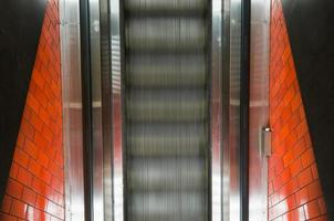 rulltrappa uppifrån foto