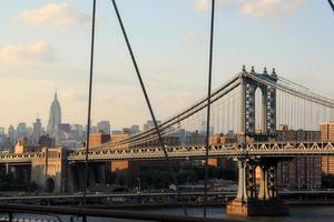 manhetten bridge foto