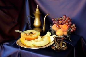 frukt-stycke foto