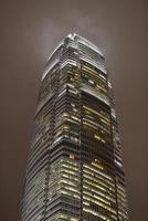 skrapa himmel två finanser center - Hong Kong foto