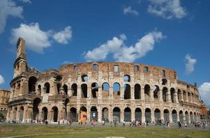 coliseum eller flavian amfiteater (Rom, Italien) foto