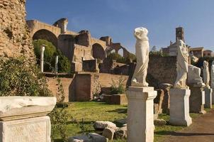 romano forum, Rom foto