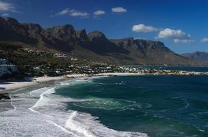 sydafrika, västra udde. Kapstaden.