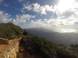Cape Point-fyren, Cape Town, Sydafrika foto