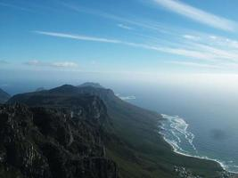 bord berg, västra udde, Sydafrika 002 foto