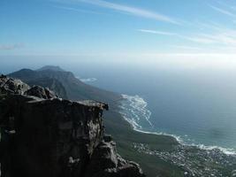 bord berg, västra udde, Sydafrika 001 foto