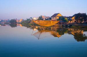 forntida stad Hoi an i Vietnam foto